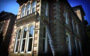 The Bygone Collection - PVCu vertical sliding sash windows installation - Cumbria