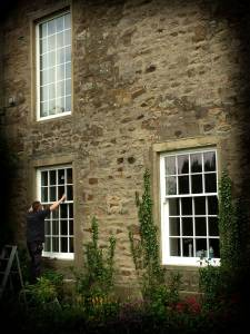 Authentic timber sash windows. Contact us for more timber windows info.