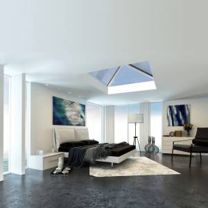 ultraSKY Lantern style Rooflight | Skylight - Bedroom