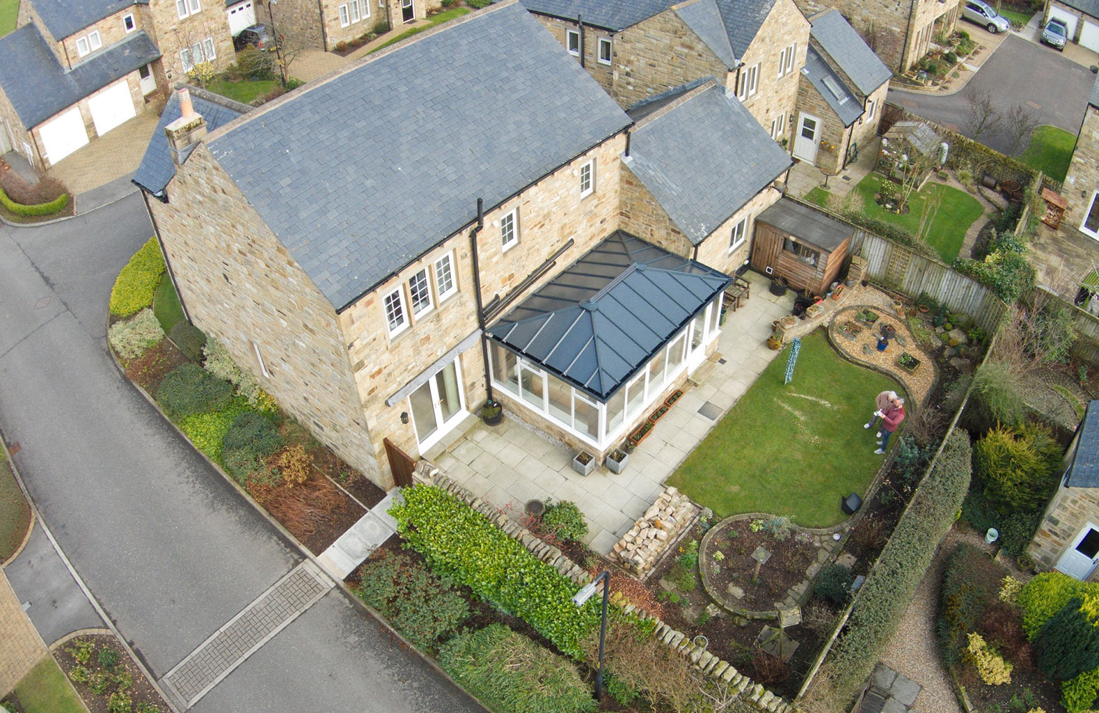 Ultraframe LivinROOF Solid Conservatory Roof | South Lakes ...
