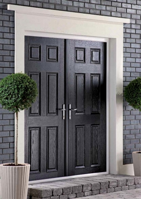 Apeer Composite French Style Double Doors