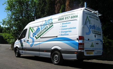 South Lakes Windows Installation Van