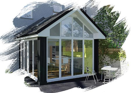 Loggia Home Extension - South Lakes Windows Ltd