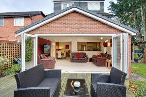 Ultraframe realROOF solid extension roof (tiles / slates)